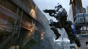 T3CH robot jumping