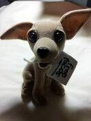 Yo Quiero Taco Bell Chihuahua Dog Toy Plush Here Lizard Lizard Godzilla 19981