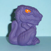 GODZiLLA THE SERiES CARL'S JR. HATCHiNG BABY iN EGG 2001 ANiMATED TOHO MiNT1