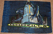 Vintage 1998 Godzilla Twin Comforter & 2 Pillow Cases6
