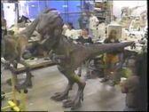 Godzilla Behind the Scenes FX Baby Godzilla Costumes etc (1)