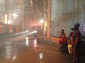 Godzilla 2014 Nuclear Plant