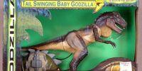 Godzilla - Remote Control Tail Swinging Baby Godzilla