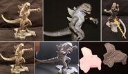 TRENDMASTERS Thunder Tail Godzilla Hand Painted Toy Fair Showroom Sample RESIN Prototype