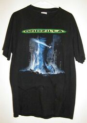 Godzilla Movie 1998 Taco Bell & Pepsi T Shirt Sz L Guess Who's Coming to Town