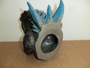 Godzilla hand operated head bust2