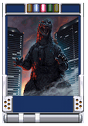 Trading Battle 3rd Generation Godzilla