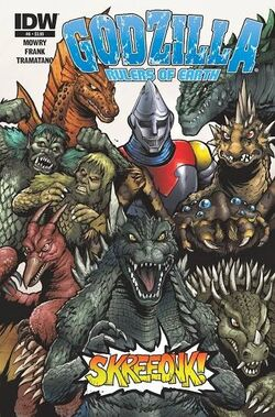 Godzilla Rulers of Earth 8