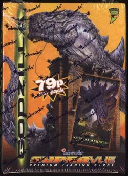 Factory Sealed 36 Pack Box of 1998 Inkworks Godzilla Supervue Cards