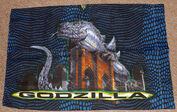 Vintage 1998 Godzilla Twin Comforter & 2 Pillow Cases5