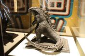 Statue of Godzilla 2014 on display at SDCC (San Diego Comic Con)