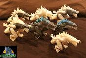 TRENDMASTERS Unreleased Animated Godzilla the Series Thunder Sonic Godzilla Prototypes x 7