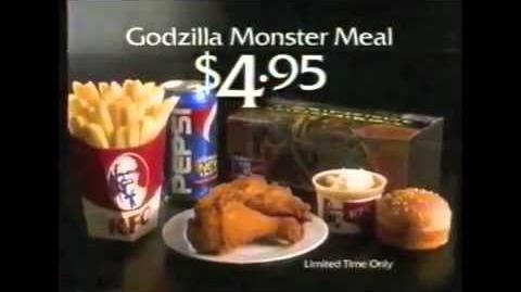 GODZILLA® (1998) - KFC Commercial