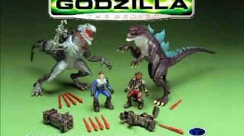 TRENDMASTERS Godzilla the Series UNRELEASED TV Commercial