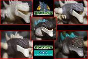 TRENDMASTERS Unreleased Animated Godzilla the Series Thunder Sonic Godzilla Prototypes x 5 Headshot