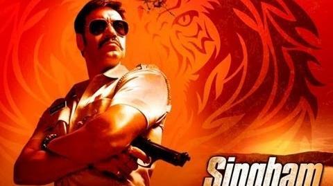 Singham Title Song Full HD Video Feat. Ajay Devgan