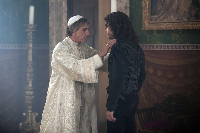 File:018 Siblings episode still of Rodrigo Borgia and Cesare Borgia.jpg