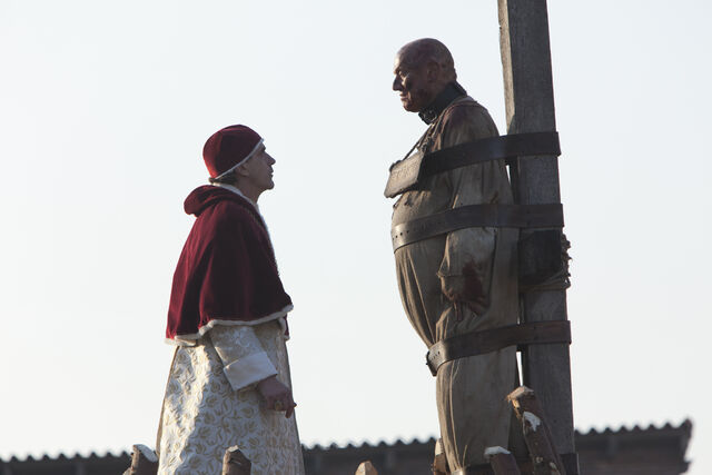File:014 The Confession episode still of Rodrigo Borgia and Girolamo Savonarola.jpg