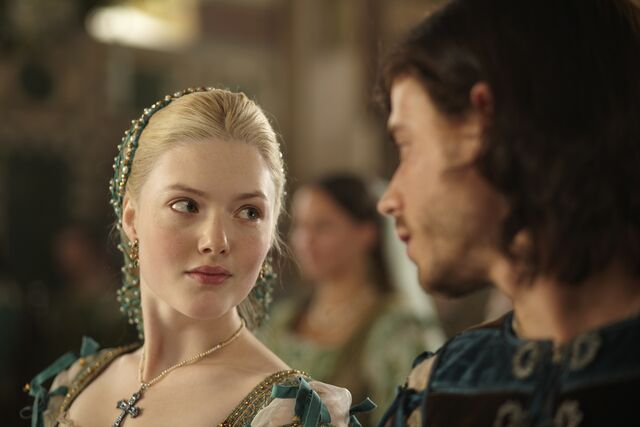 File:004 The French King episode still of Lucrezia Borgia and Cesare Borgia.jpg