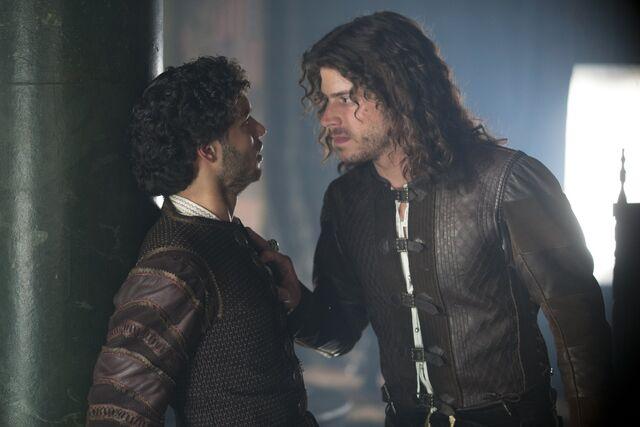 File:015 Siblings episode still of Alfonso of Aragon and Cesare Borgia.jpg