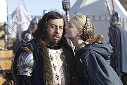 006 The Art of War episode still of Charles VIII and Lucrezia Borgia 250px