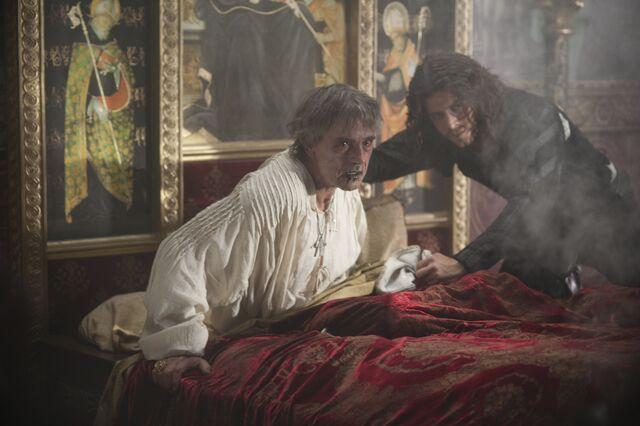 File:018 The Face of Death episode still of Rodrigo Borgia and Cesare Borgia.jpg