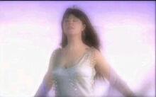 Sarah Brightman feeling the wind