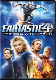 Fantastic 4 rise of the silver surfer DVD