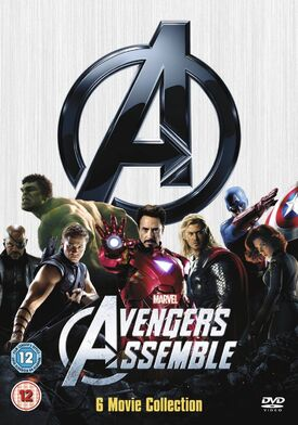 Avengers assemble 6 movie collection DVD