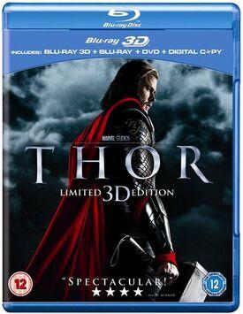 Thor blu-ray 3D blu-ray DVD digital copy