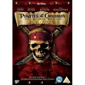 Pirates of the caribbean the curse of the black pearl the lost disc edition