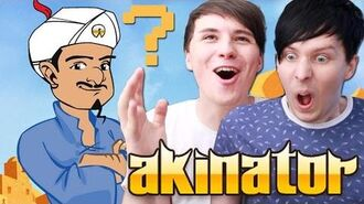 Dan and Phil Play AKINATOR