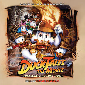 DuckTales movie soundtrack cover