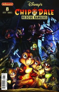 Rescue Rangers 2010 Comic Issue 8A
