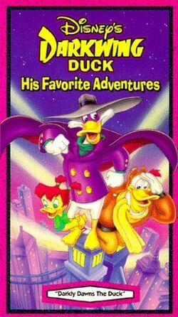 Darkly Dawns the Duck VHS