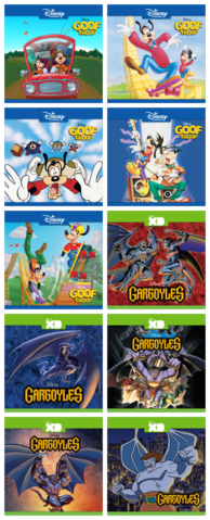 File:Goof Troop and Gargoyles on iTunes.png