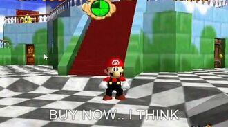 Nintendo007 Bloopers Shroom Commericial