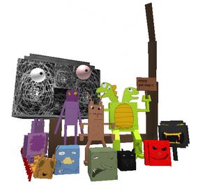 Monster list icon