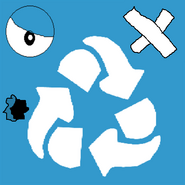 Meanwile recycle bin face