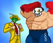The mask + rick taylor bros