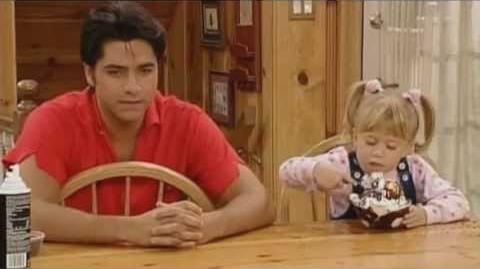 Full House clip- Jesse tempts Michelle with ice cream