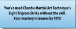 Martial skill eight trigrams
