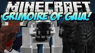 Minecraft GRIMOIRE OF GAIA! (Epic RPG Mod!) Mod Showcase 1.5.1