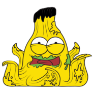 Slimy peel 1