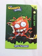 Awful apple collector card