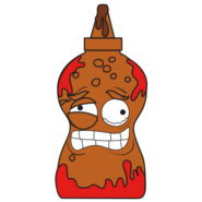 Burnt BBQ Sauce Brown