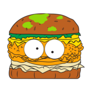 Horrid Hamburger Brown