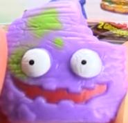 Cruddy Chip Purple Figure