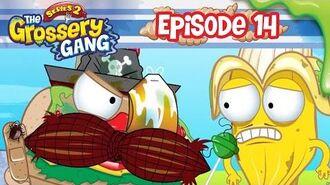 Grossery Gang Cartoon - Episode 14, 'Crud Flood' Part 3 - Cartoons for children
