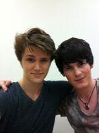 Brad and Eugene